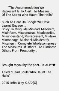 Souls Who Haunt The Halls