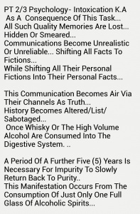 PT 23 Psychology Intoxication