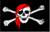 pirate-skull-crossbones-red-bandana-18-x-12-45cm-x-30cm-sleeved-boat-flag-2404-p